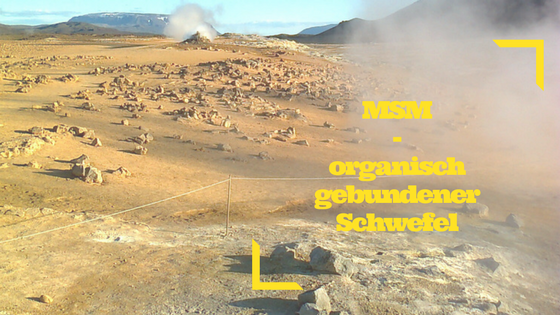 MSM – organisch gebundener Schwefel – ein richtiges Allroundtalent